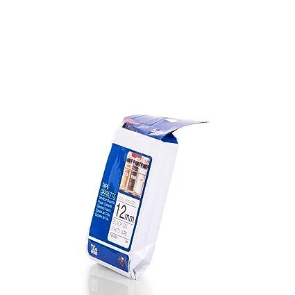 Brother TZ-231 Laminated Tape TZ Cinta para Impresora de Etiquetas - Cintas para impresoras de Etiquetas (TZ, 8 m, 1,2 cm)