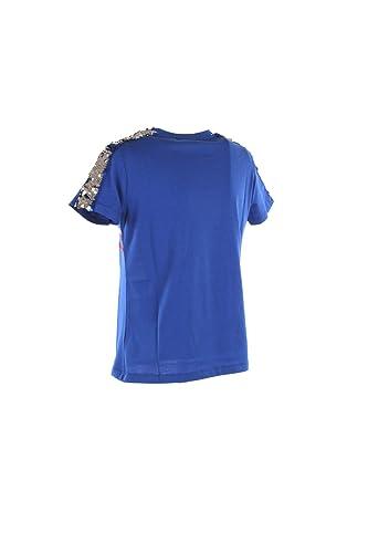 Donna 2019Amazon T Shirt Azzurro Kaos Lpjbr006 Estate Primavera Xl KFcJl1