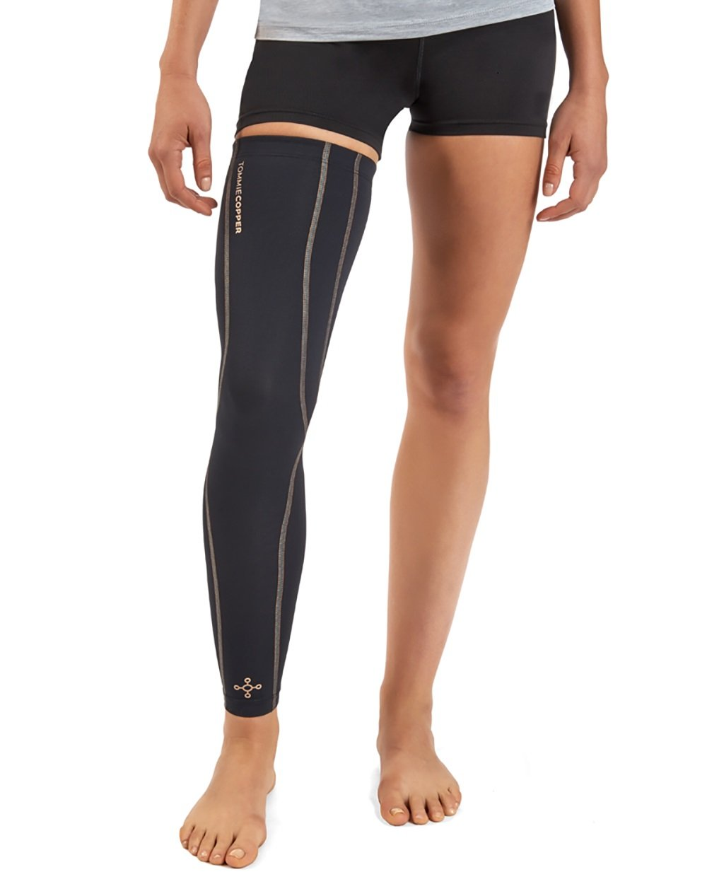 Tommie Copper Women's Performance Full Leg Sleeves 2.0, Small, Black