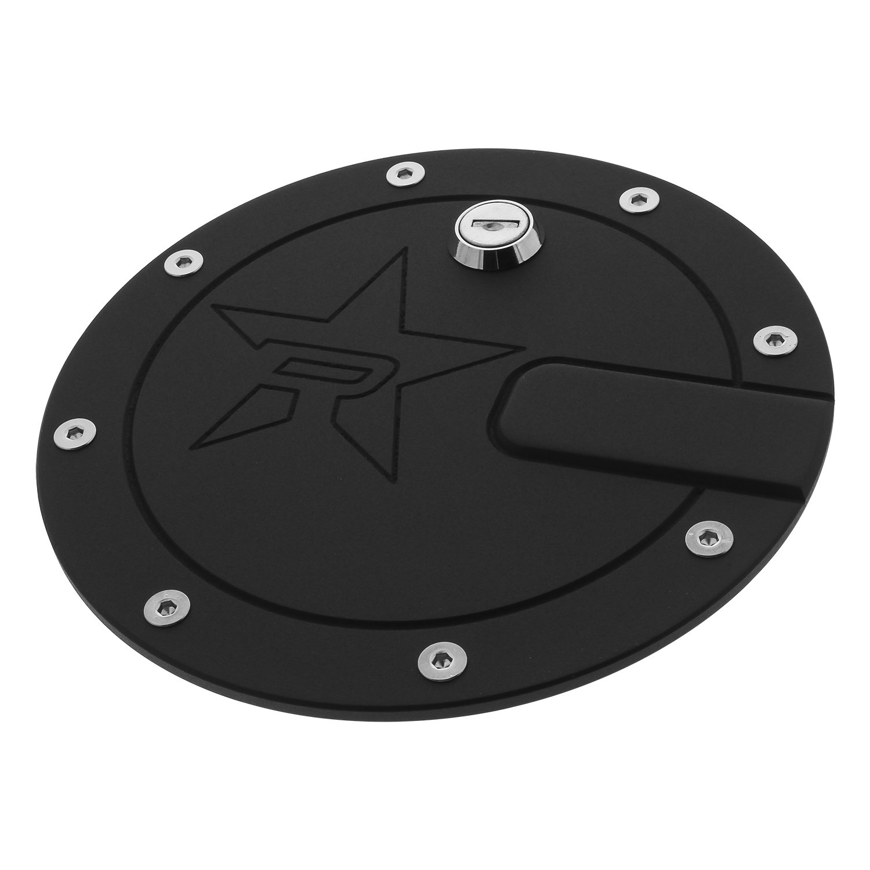 RBP RBP-6109PL-RX2 RX-2 Polished Aluminum Locking Fuel Door