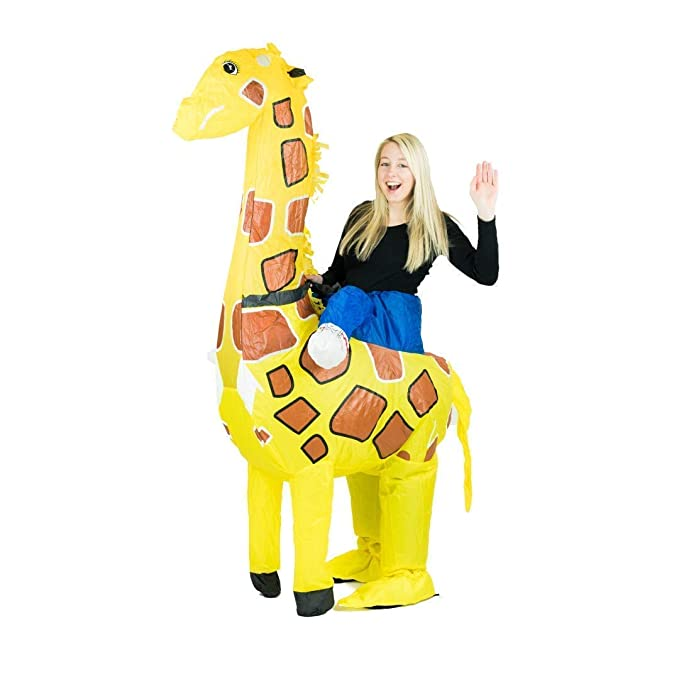 Bodysocks® Disfraz Hinchable de Jirafa Adulto: Amazon.es: Juguetes ...