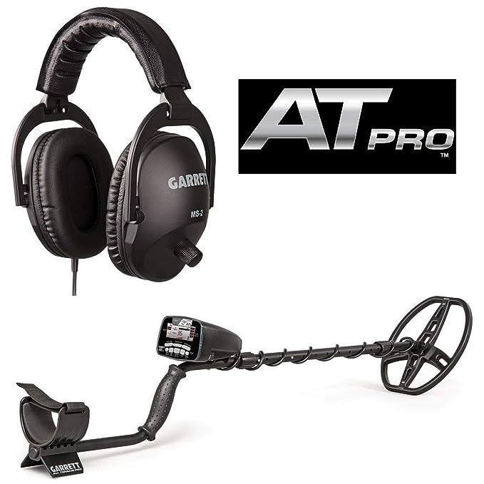 Garrett AT Pro con MS-2 Auriculares y 50