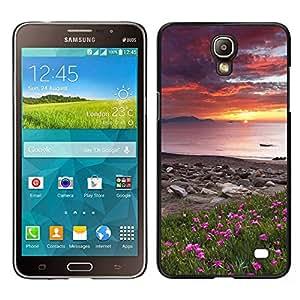 LECELL--Funda protectora / Cubierta / Piel For Samsung Galaxy Mega 2 -- Naturaleza Hermosa Forrest Verde 105 --