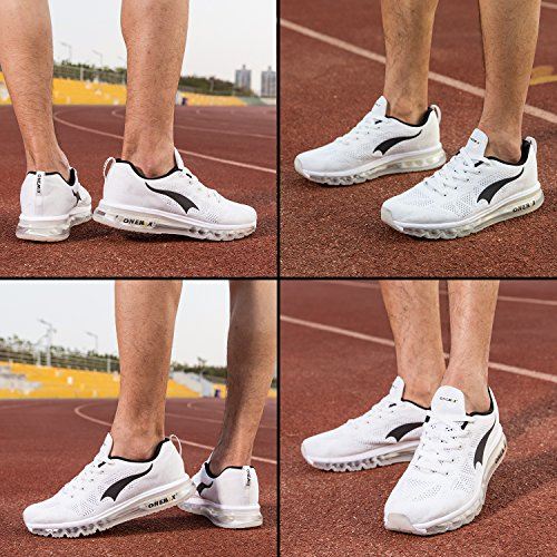 Shoes Trainer Running Max Sport Athletic Flyknit Knit Shoes Air Men's ONEMIX Lightweight White Sneaker tq4vF