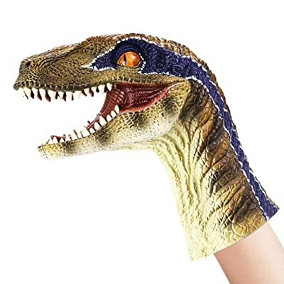 Children Toy Gift Decoration Islandse Aminal Hand Puppet Soft Kids (D): Clothing