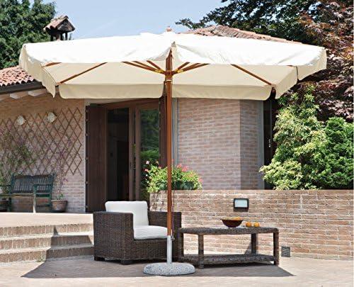 Green House - Sombrilla rectangular, 3 x 2 m, color crudo, E 4001: Amazon.es: Ropa y accesorios