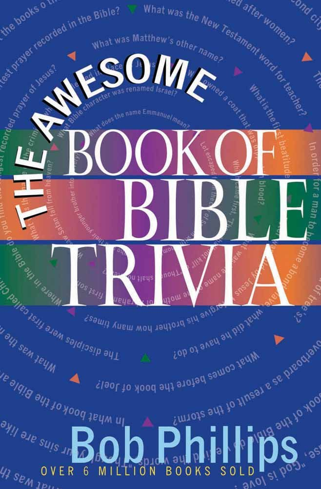 The Awesome Book of Bible Trivia pdf