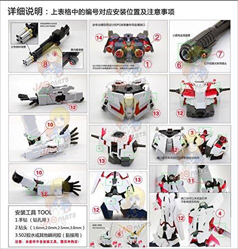 PG 1/60 RX-0 ユニコーンガンダム (機動戦士ガンダムUC)用 メタルバーニア セットの商品画像