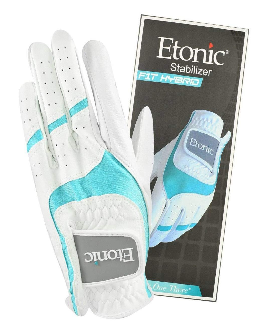 EtonicスタビライザーレディーF1TハイブリッドLlh手袋、ミディアム、ホワイト B07B6R485S