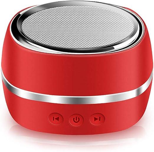 CGGDP Altavoz inalámbrico Bluetooth Outdoor Sports Smart Mini Altavoz, Bluetooth 4,1, estéreo Transparente, subwoofer, para teléfonos móviles, tabletas, TV,Red: Amazon.es: Hogar