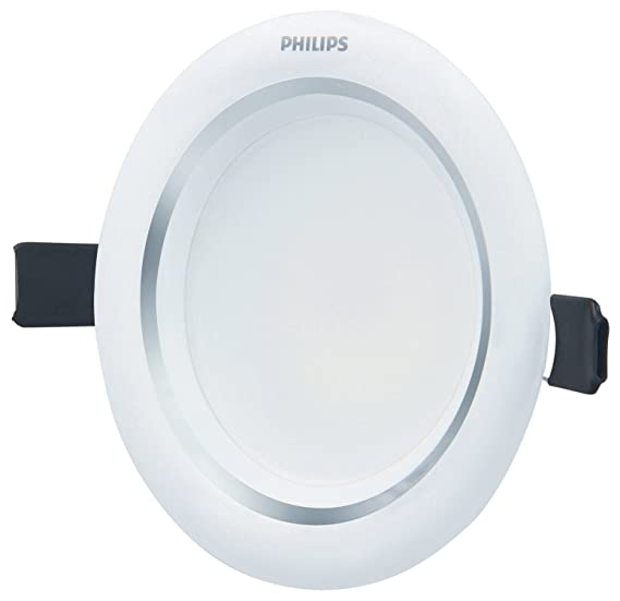 Philips Aura Plus 7-Watt Recessed LED Down Light (Natural Light, Round) Fixtures at amazon
