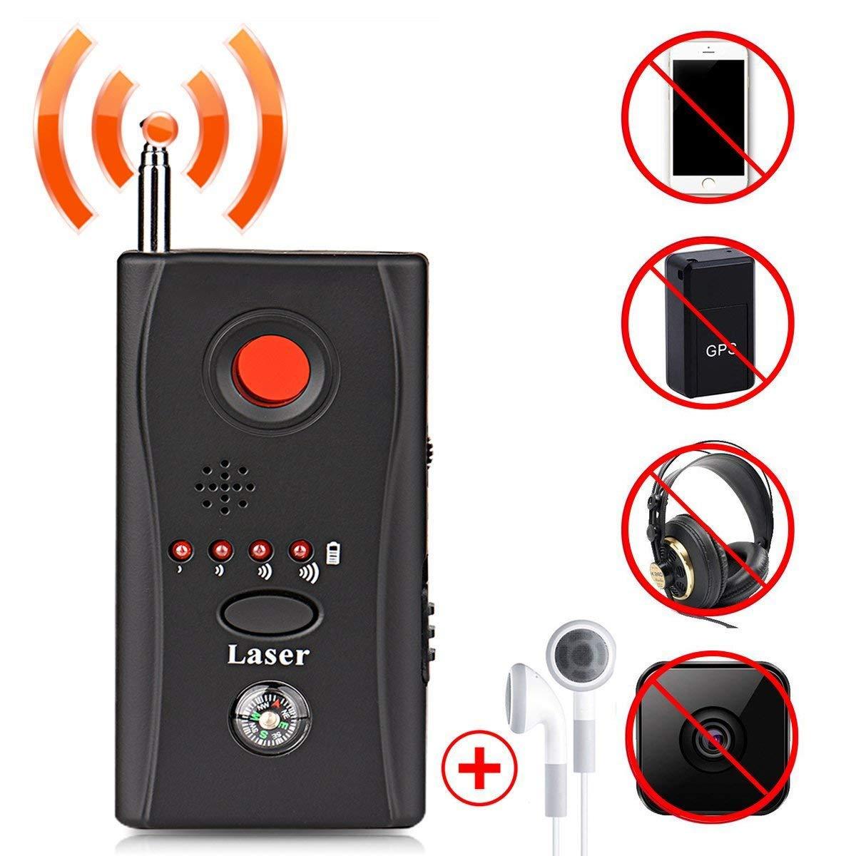Rf detektor Antispionage-Kamera-Wanze, EEIEER-drahtloser Wanzen-Detektor Versteckte Kamera-Linsen-Detektor-Funkwellen-Signal-Entdeckung Vollsortiment-G / M Gerä tefinder, Kamera-Detektor fü r Abhö rsicherheit / Candid / GPS-Verfolger