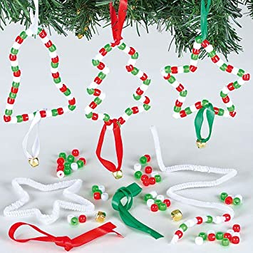Anhänger Bastelsets Weihnachten Mit Perlen Für Kinder Zum