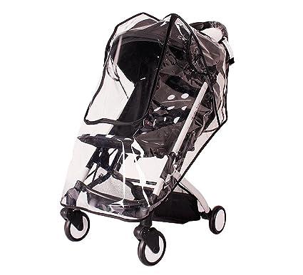 Funda impermeable para cochecito de bebé, de EVA premium, protector de lluvia para cochecito