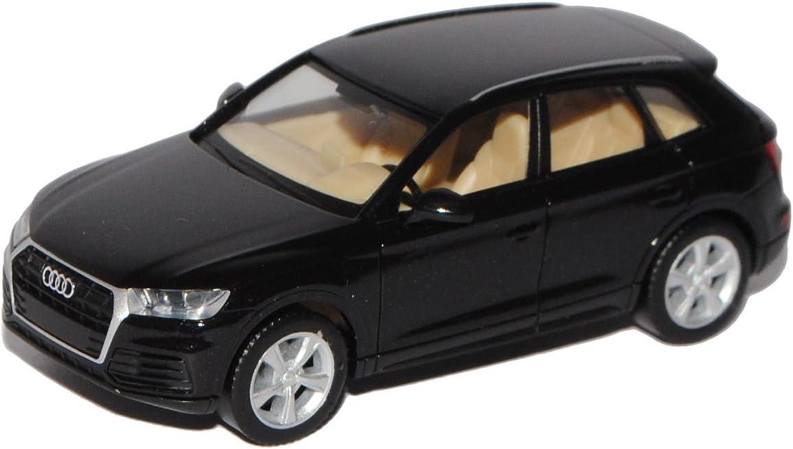Generation Ab 2016 H0 1//87 Modell Auto mit individiuellem Wunschkennzeichen Herpa A-U-D-I Q5 II SUV Schwarz 2