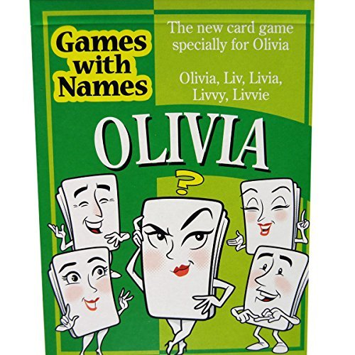 OLIVIA'S GAME: The stocking stuffer game especially for people called Olivia. Ideal as an amusing secret santa item, small xmas gift, gag or christmas game. (Groups Games For Themed Christmas)