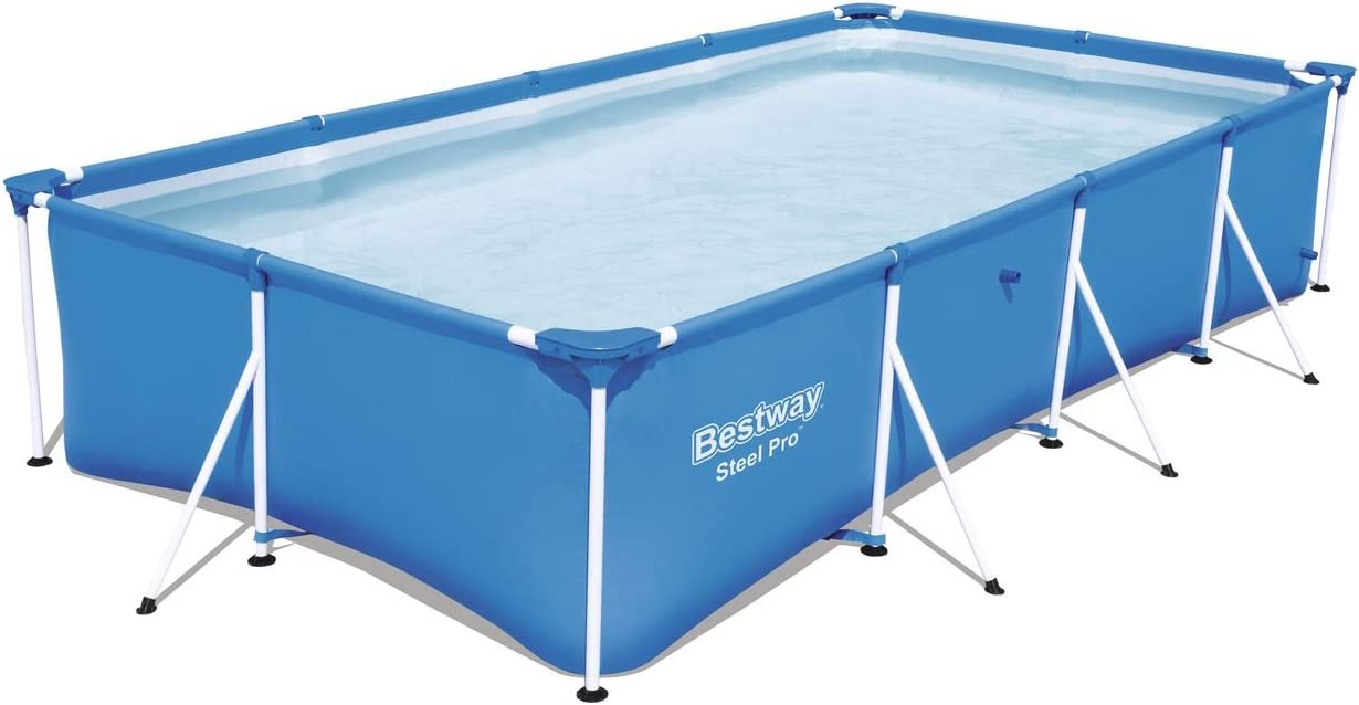 Bestway 56405 - Piscina Desmontable Tubular Infantil Family Splash Frame Pool 400x211x81 cm: Amazon.es: Jardín
