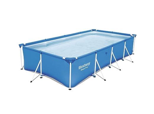 Piscina Desmontable Tubular Infantil Bestway Family Splash Frame Pool 400x211x81 cm