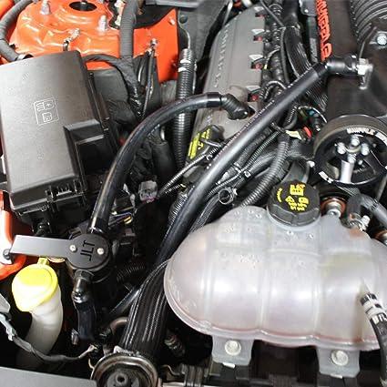 Amazon com: JLT Oil Separator 3 0 Passenger Side, Black Anodized