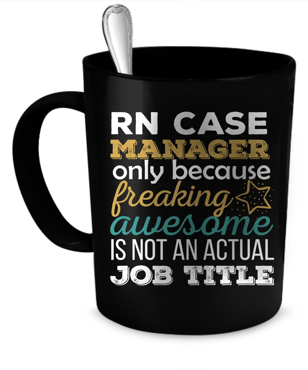 Amazon Rn Case Manager Coffee Mug Rn Case Manager Funny Gift