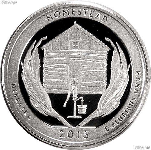 2015 S National Parks Nebraska Homestead Proof Quarter PF1