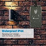 Wifi Smart Outdoor Plug, Houzetek RF251 Waterproof Outlet Scoket, APP Wireless Remote Control and Timer Function, 3 PIN