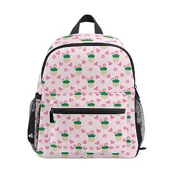 Amazon.com: Cactus - Mochila de viaje, color rosa: MarthNatha