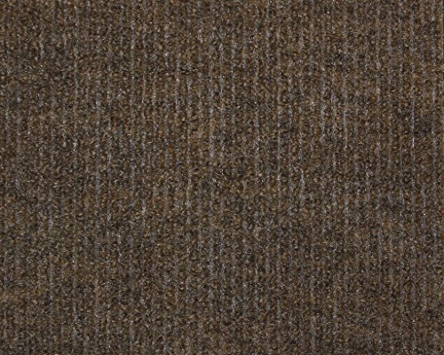 6'x14' Dark Brown Indoor-Outdoor 3/16'' Thick Unbound Area Rug With Light Weight Latex Backing by Koeckritz Rugs