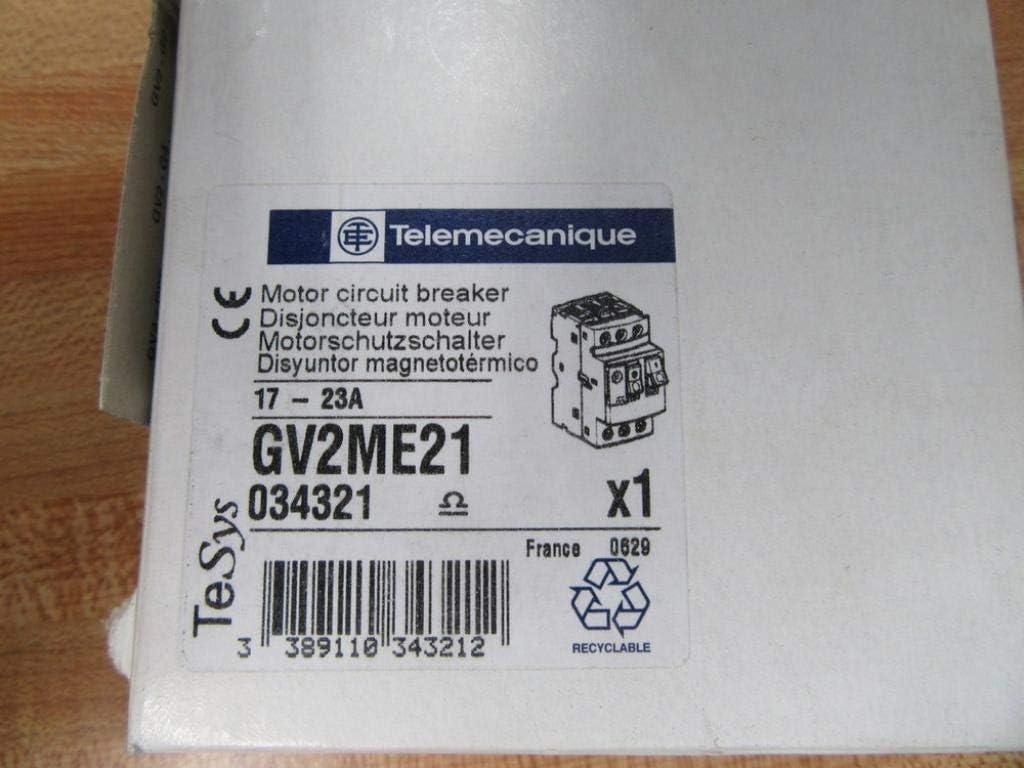 GV2ME21 Square D Motor Starter GV2ME21  ***New in Box *** SEALED