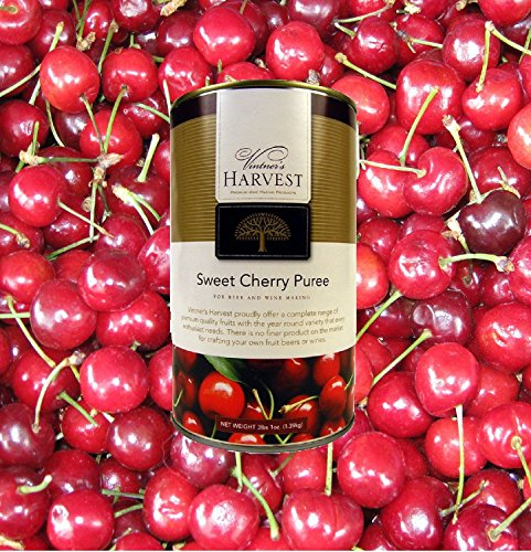 VINTNER'S HARVEST SWEET CHERRY FRUIT PUREE For Beer and Winemaking by Vintner's Harvest
