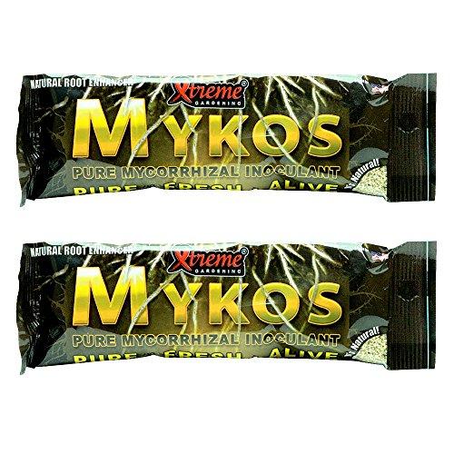 (Xtreme Gardening Mykos Pure Mycorrhizal Inoculant, 100 g, 2 Count)