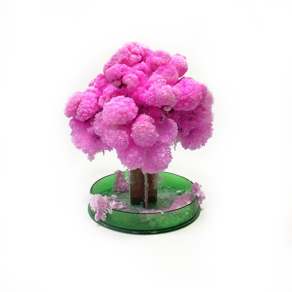 WuKong Magic Flowering Paper Tree Cherry Blossom Tree Creative Christmas Decoration Tree Christmas Gift
