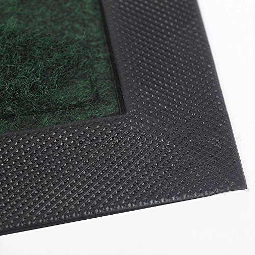 Outside shoe mat rubber doormat for front door 18 x 30 for Door mats amazon