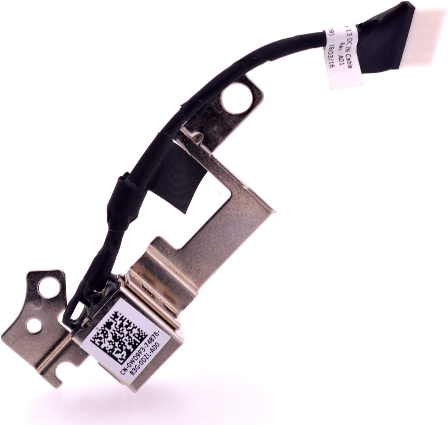 NEW DC Power Jack Harness Cable For Dell Latitude 13 3380 450.0AW08.0011 WD9P3