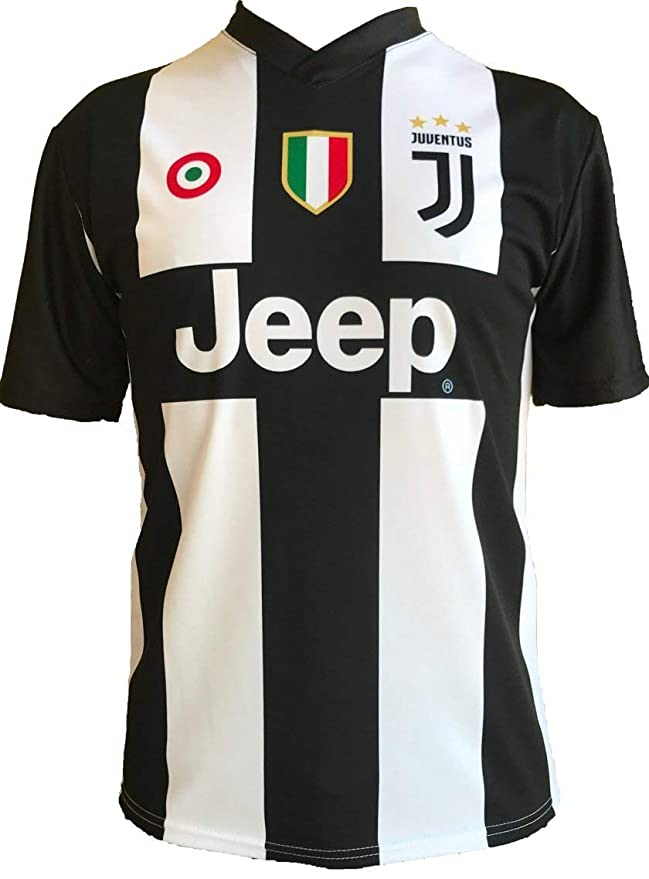 Soccer Football T-Shirt CRISTIANO RONALDO 7 CR7 Juventus Jersey HOME Season  2018-2019 Official REPLICA with LICENSE - All The Sizes BOY (2 4 6 8 10 12  ... a226191ae
