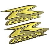 Suzuki GSXR Logo Decal Chrome 8.5 x 3 3//8 Gixxer