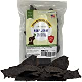 Green Butterfly Brands Dog Jerky Treats – Premium American Beef – Dog Treats Made in USA Only. All Natural – Grain Free, No P