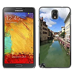 Hot Style Cell Phone PC Hard Case Cover // M00308643 Annecy Lake City Tourism Water // Samsung Galaxy Note 3 III N9000 N9002 N9005