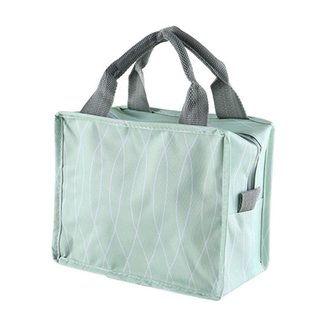 Fashion New Portable Waterproof Thickness Picnic School Lunch Bag Office