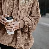 Lloopyting Women's Winter Hooded Sweatshirt Long