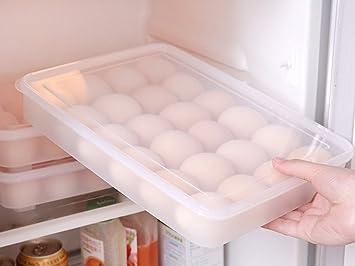 Kühlschrank Organizer Stapelbar : Emoyi kühlschrank lagerung organizer ei bin u mit deckel für