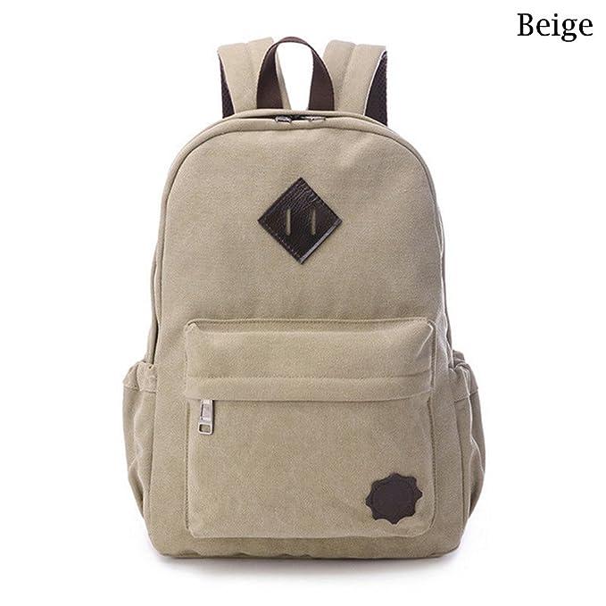 e92d45ed2e5b Amazon.com: Bestmemories Laptop Desktop Bag Men Casual Canvas Travel ...