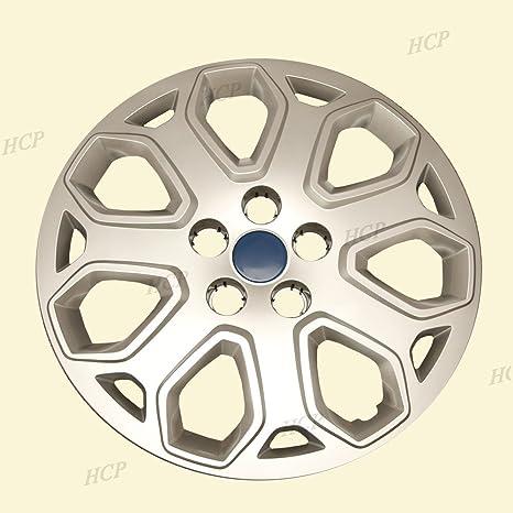 """Plateado fundas para ruedas de 16 """"push en tapa de buje para Ford Focus"""