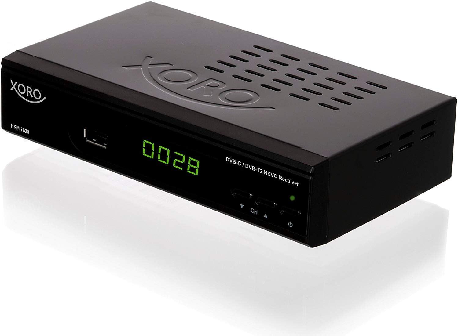 Xoro HRM 7620 Ricevitore digitale terrestre DVBT2 FullHD
