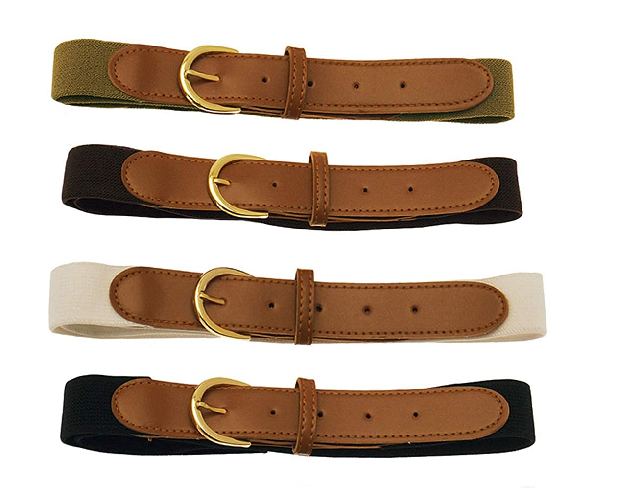 Stretch Belts Set of 4