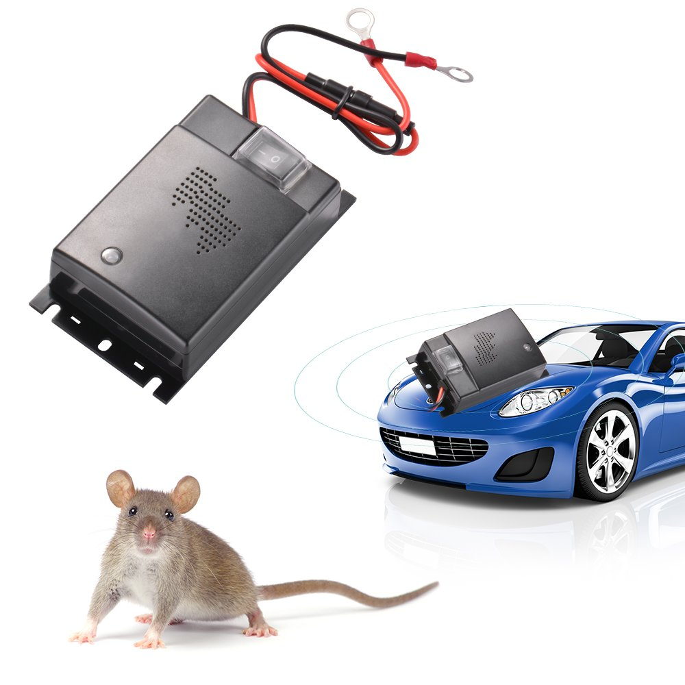 Kreema Digital-Ultraschall-energiesparende Auto-Maus-Repeller-Anti ...