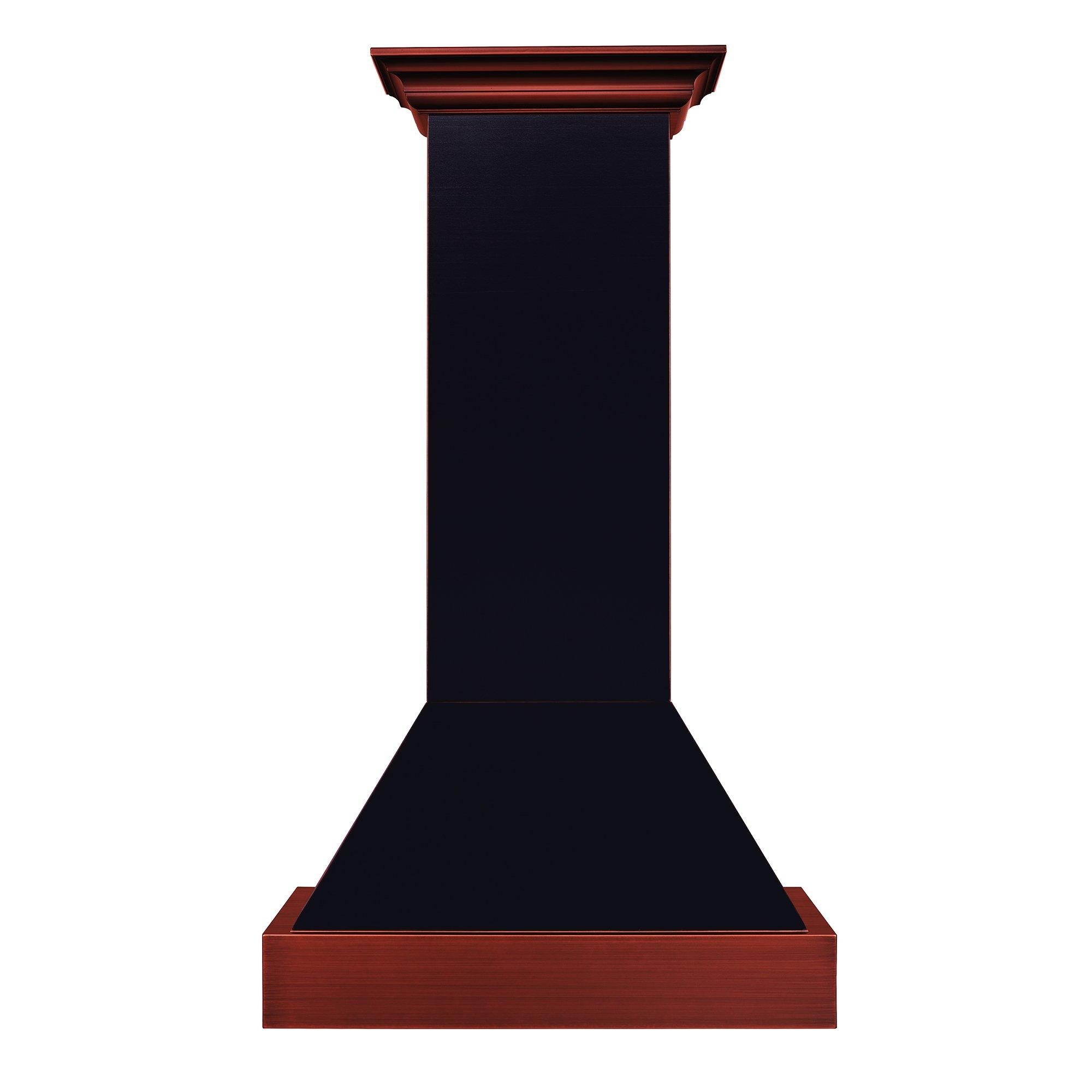 Z Line 655-BCXXX-36 36'' 1200 CFM Designer Series Wall Mount Range Hood, Oil-Rubbed Bronze by Z-Line