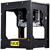 1500mw 550x550 Pixel Laser Engraver Printer, NEJE DK-BL High Resolution Art Craft Science Industry High Speed Laser Engraving Cutter Mini USB Carver Machine Bluetooth 4.0 with Protective Glasses