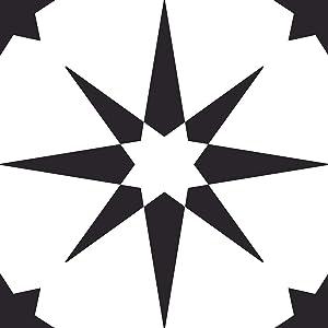 FloorPops FP2948 Altair Peel & Stick Floor Tile