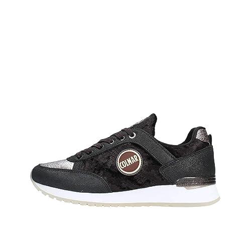 Colmar Travis Velvet Sneakers Donna  Amazon.it  Scarpe e borse 40b7e04bf81